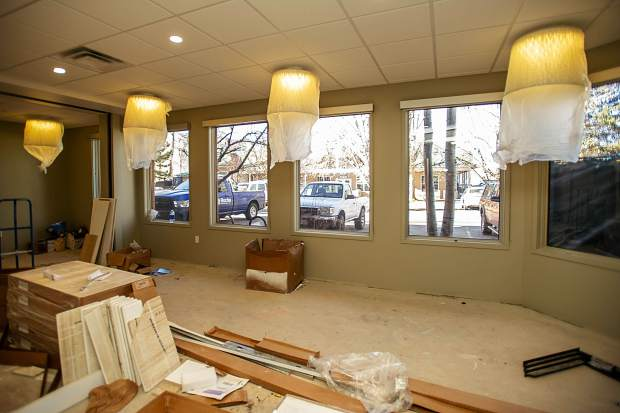 The main lobby area for the new Basalt Integrated Health Center located next to Stubbies.
