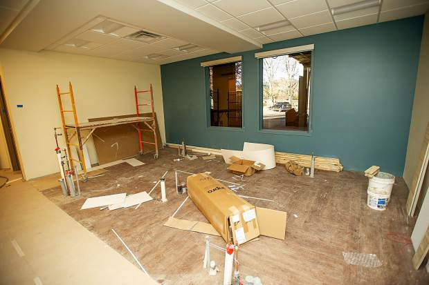 The dental area that will host 3 dental chairs for the new Basalt Integrated Health Center located next to Stubbies.