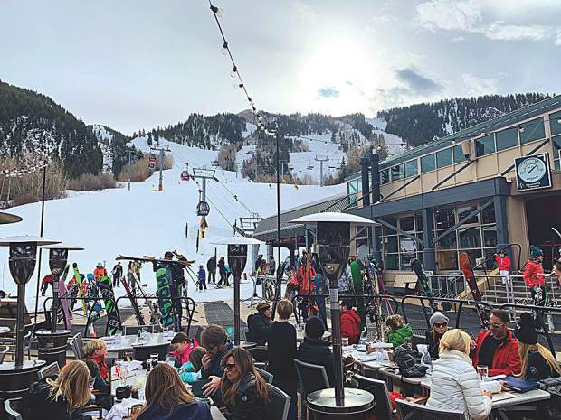 And just like that, après-ski season is back! Steve Goff photo.