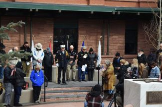Aspen honors veterans at new memorial park