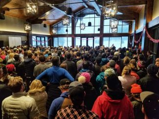 Huge crowd gathers in Vail to celebrate the life of Bindu Pomeroy