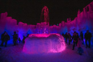 Dillon Ice Castles to open Friday, Dec. 21