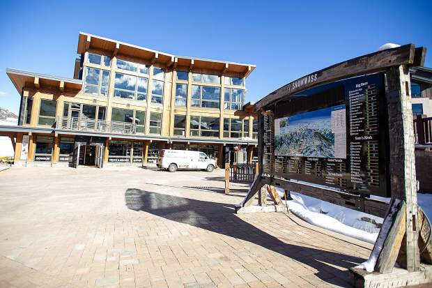 Snowmass Four Mountain Sports in Base Village on Dec. 7.
