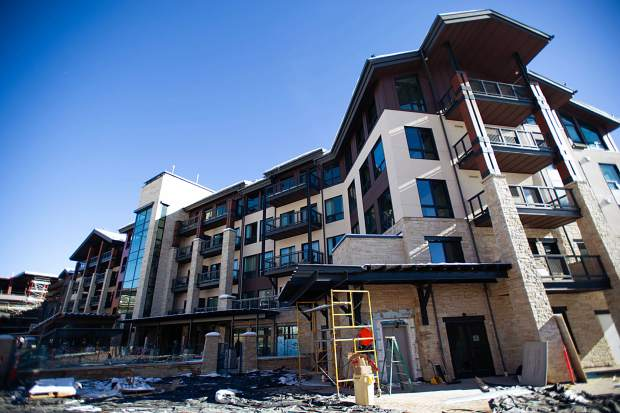 The Limelight Hotel in Snowmass Base Village on Dec. 7.