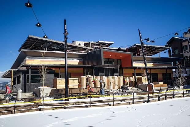 Building 6 in Snowmass Base Village on Dec. 7.