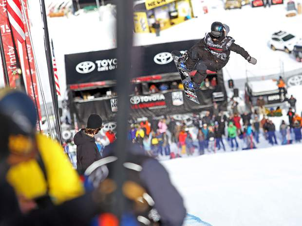 Louie Vito competes in the Snowmass Grand Prix.