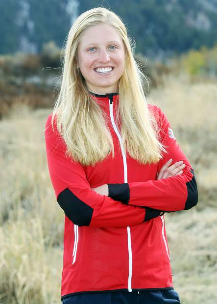Hailey Swirbul on Monday, Oct. 22, 2018 in Aspen. (Photo by Austin Colbert/The Aspen Times).