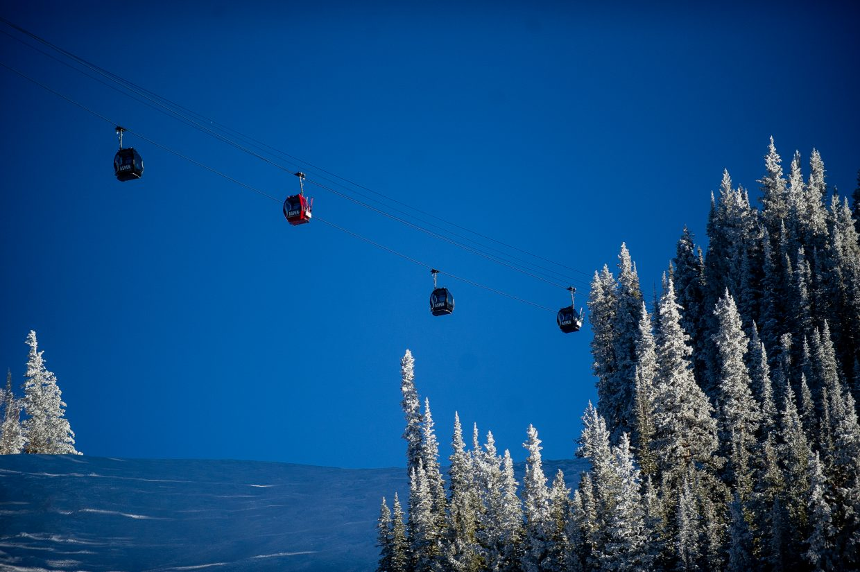 9504e2c6a You board the Elk Camp Gondola, ready for a couple of quiet afternoon laps  at Snowmass after brunch and fending off a hangover. You're about to crack  the ...