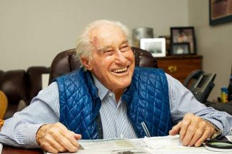 Klaus Obermeyer going strong on his 99th birthday: stay positive, look for win-win living