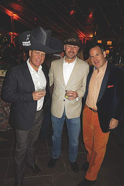 Dressed to impress - Coley Cassidy, Keith Hemstreet and Adam Frisch.