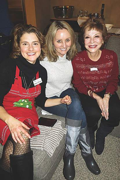 Meghan Pearlman, Annie Hosier and Nancy Magoon.