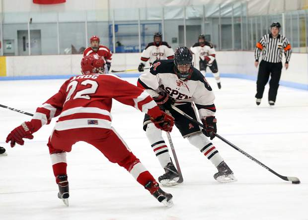 CO H.S.: Aspen Hockey Loses To No. 1 Regis, AHS Boys Win Second Game