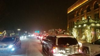 Afternoon snowstorm in Aspen makes for treacherous, long rush hour home