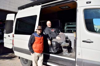 The van-do spirit: Aspen entrepreneurs launch overland business