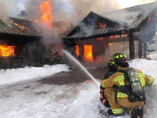 Snowy roads hinder access to house fire near Ruedi Reservoir on Tuesday morning