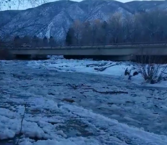 Ice jams cause concerns for Roaring Fork, Frying Pan rivers; flood advisory remains through Monday