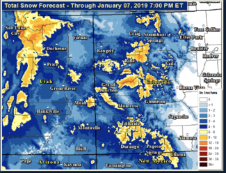 Snow returns Sunday to Aspen area; avalanche danger increases to 'considerable'