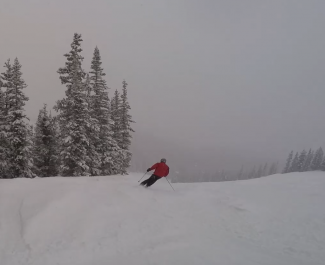 The Drop-In: Skiing in a snowstorm with a longtime local