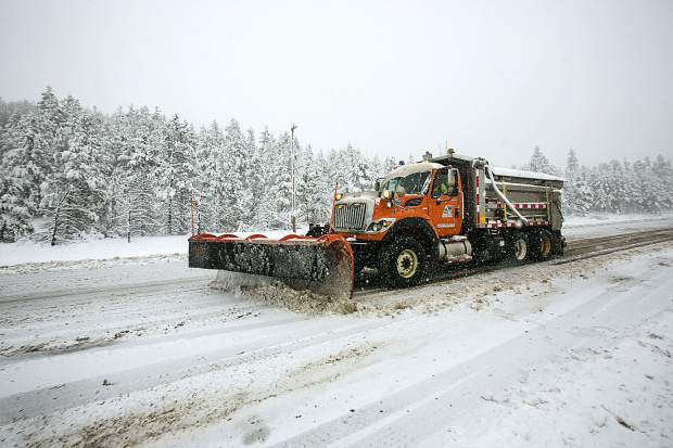 Colorado searching for the right highway de-icing mixture