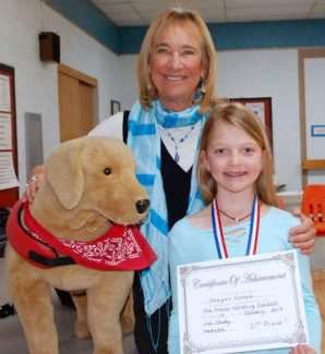 Fraser Writing Contest — Third-grade winner