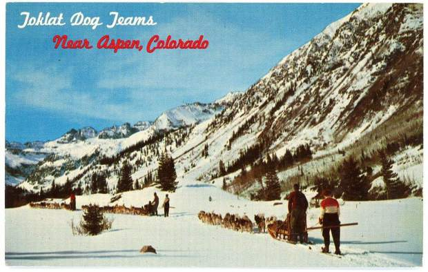 A vintage postcard of the Toklat operation in Ashcroft.