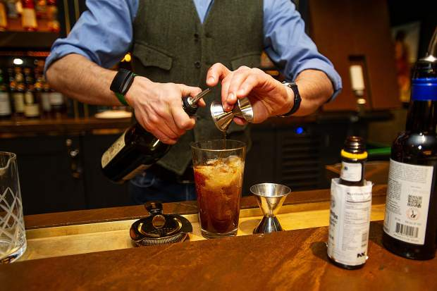 Bartender Justin McDuffie describes the Macy Valentine as