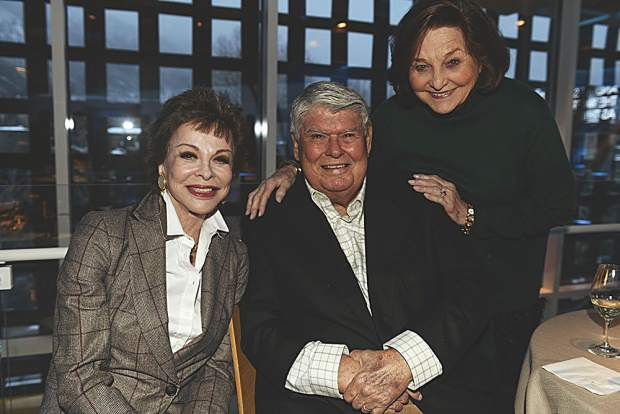 Nancy Magoon with Paul and June Schorr. Riccardo S. Savi photo.