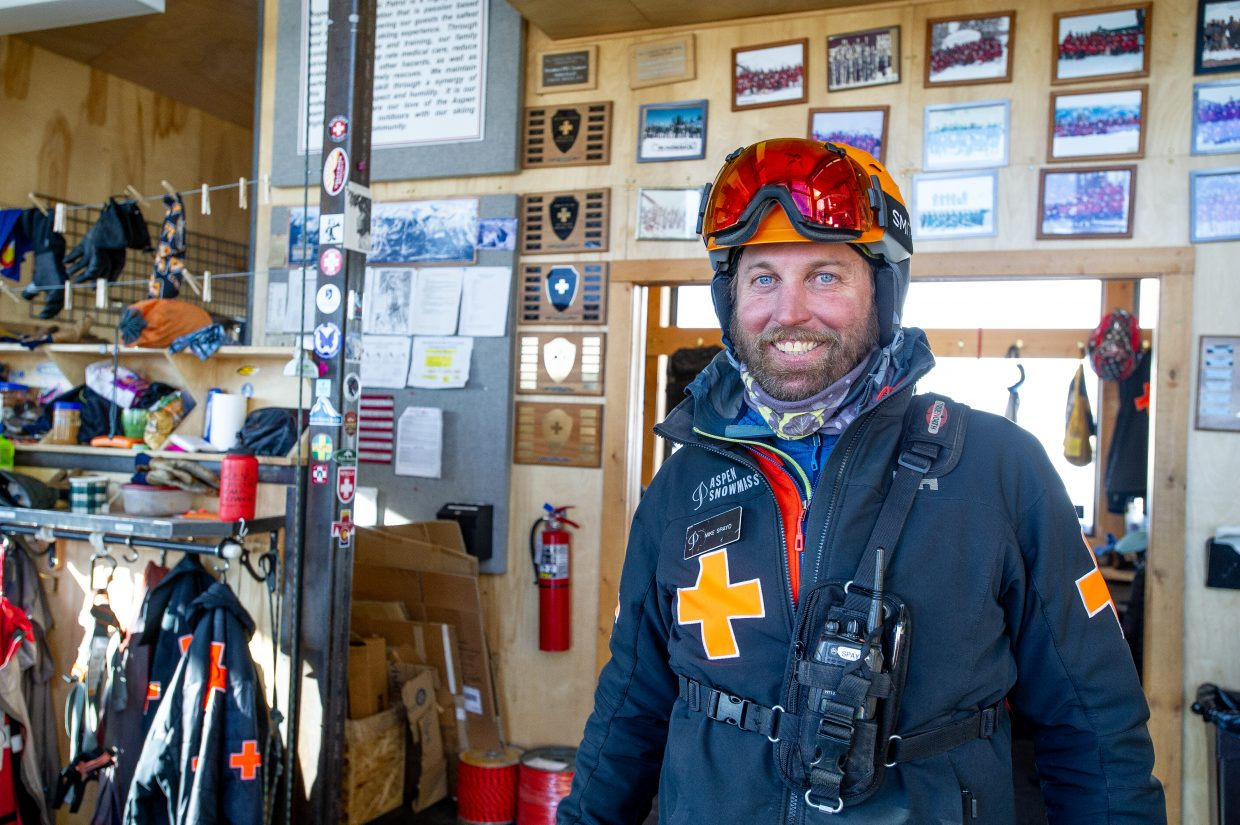 Aspen Highlands ski patroller Mike Spayd.