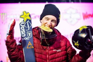Aspen's Alex Ferreira finally wins X Games gold in ski pipe, holding off Wise