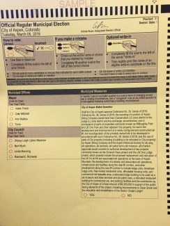 Ballots sent to underage voters in city election