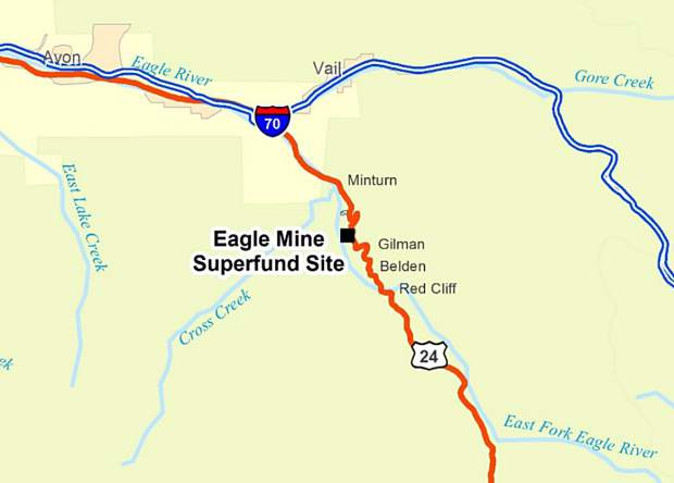 Efforts underway to upgrade remediation at Eagle Mine | AspenTimes com