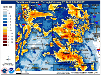 Winter storm to last into Thursday; snow predictions in Aspen area at 12-18 inches