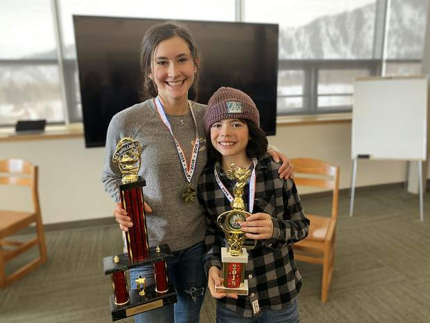 Siblings Sophie and Eli Genshaft were among 20 Aspen Middle School students in the all school spelling bee, with the two of them going head to head. They both spelled all of the words correctly, and they exhausted the word list, so they advanced to a spell-off, in which any word in the English dictionary or various other languages could be given. Sophie took the top honor for the second straight year and she heads to the Colorado State Spelling Bee on March 16.