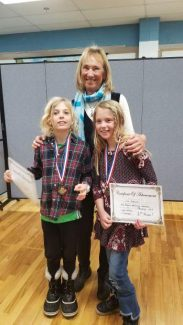 Fraser Writing Contest — Fourth-grade winners