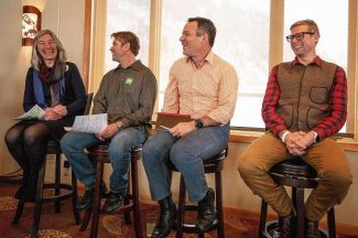 Aspen mayoral candidates separate themselves in lunch forum