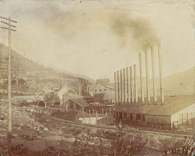The Mollie Gibson Mine in Aspen.