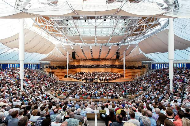 Review: Far-ranging orchestra programs mark the weekend at Aspen Music Fest
