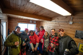 The Drop-In: Celebrating winter at Buckhorn Cabin (video)