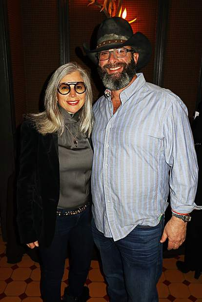 Tamar and Stephen Olitsky.