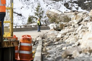 I-70 reopens in both directions through Glenwood Canyon after rockslide