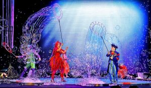 See B-The Underwater Bubble Show at the Vilar Performing Arts Center in Beaver Creek