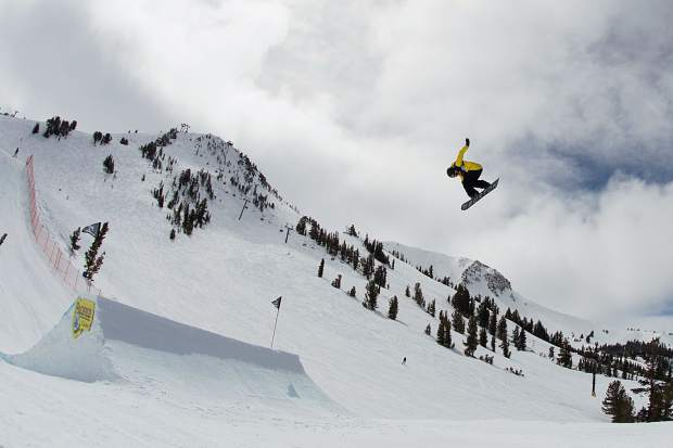 d3576070f714 Red Gerard executes a trick during qualifiers for the Toyota U.S. Grand Prix  slopestyle competition at