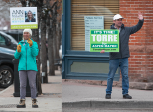 Aspen mayor: Torre, Ann Mullins will be in April runoff