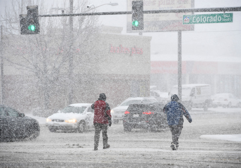 Stretches of I-70 closed, crashes piling up as bomb cyclone hits
