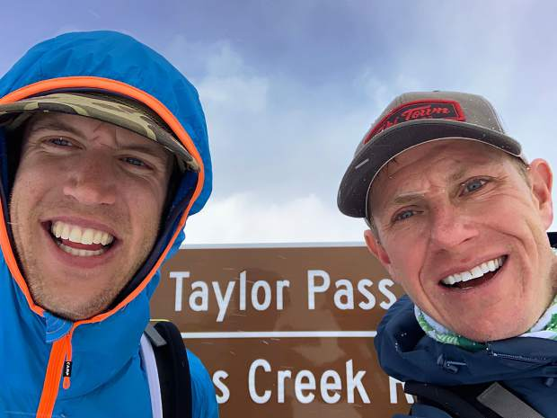 Owen Green, left, and Michael Goerne died Feb. 16 in an avalanche near Crested Butte. The two men, seen here in a photo taken early last month, were training for the upcoming 40-mile backcountry Grand Traverse race from Crested Butte to Aspen.