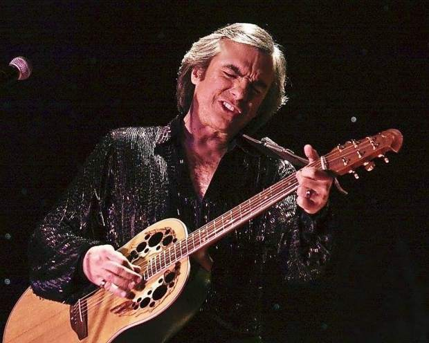 Jay White performing as Neil DIamond. His