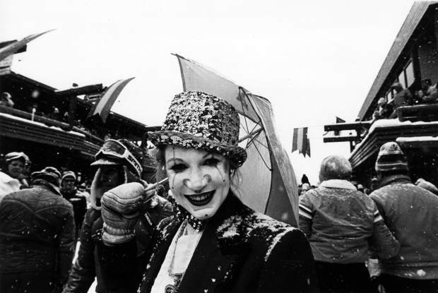 Snowmass history: Mardi Gras live on the mall