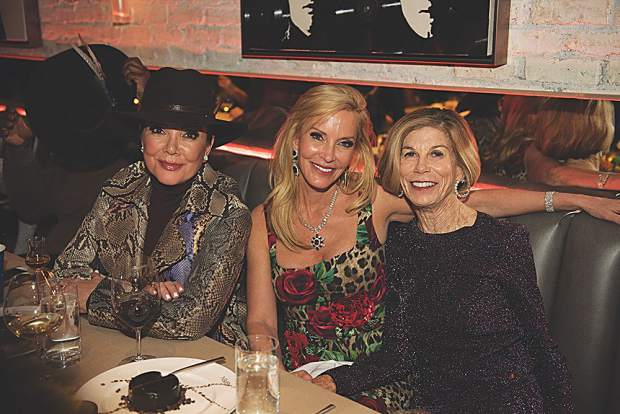 Kris Jenner, Nancy Rogers and Susan Marx. MarySue Bonetti photo.