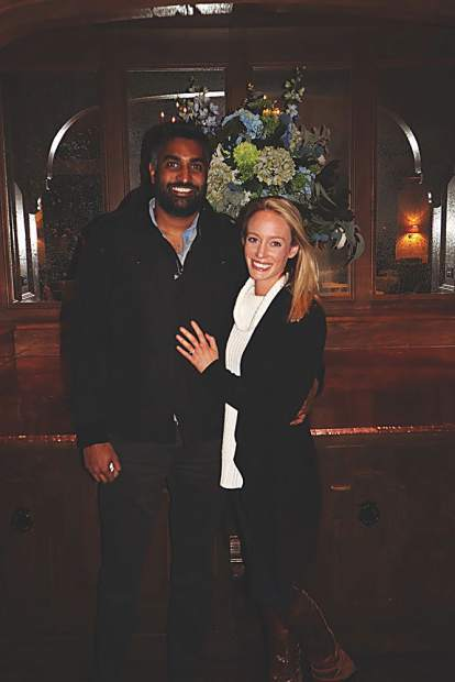 While Rahul and Emily Patel were in town for the JonesTrading weekend, they made things official with a Pitkin County Courthouse wedding on March 15!