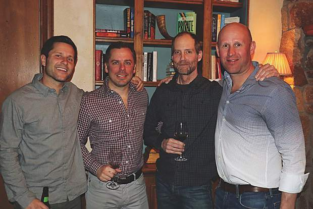 Paul, Dan Gosselin, Dave Lucas and Will Stratton.
